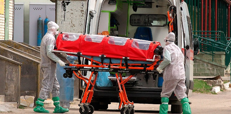 ,,Nadchodzi druga, gorsza fala pandemii'' - zdjęcie