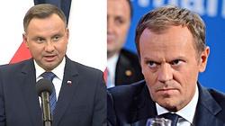 Prezydent Duda: Tusk nie ma szacunku do własnego kraju. Nie reprezentuje polskich interesów - miniaturka