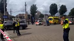 Atak nożownika na dworcu w Amsterdamie! - miniaturka