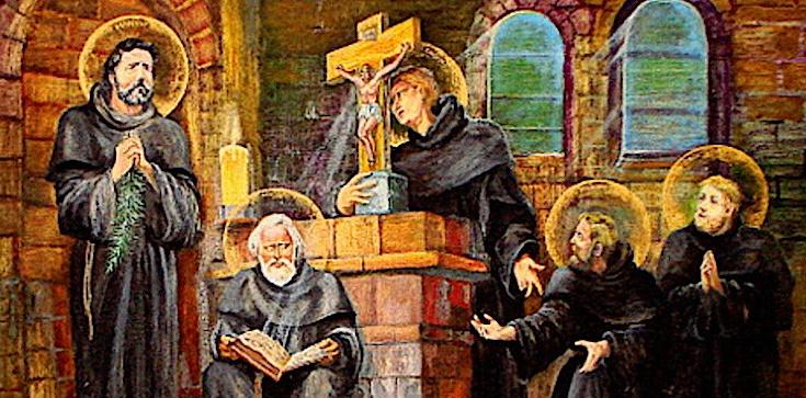 Oddali życie za Chrystusa. Pierwsi męczennicy Polski - Benedykt, Jan, Mateusz, Izaak i Krystyn - zdjęcie