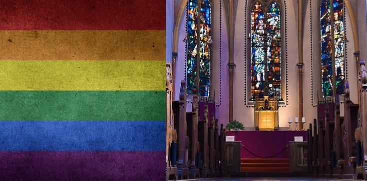 Homoterroryści w płockim kościele!!! - zdjęcie