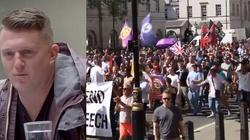 Chcą ZABIĆ T. Robinsona, który ujawniał prawdę o islamskich gangach?! Brytyjczycy po aresztowaniu wyszli na ulice - miniaturka