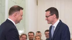Prezydent Duda spotka się z premierem Morawieckim. Chodzi o rekonstrukcję rządu - miniaturka