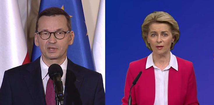 Polska nie ustąpi! Nieoficjalnie: Premier Morawiecki odpowiedział szefowej KE - zdjęcie
