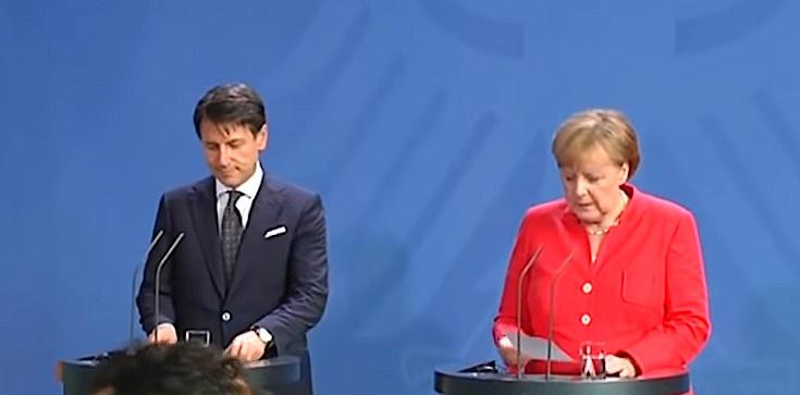 Ujawniono prywatną rozmowę Angeli Merkel z premierem Włoch Giuseppe Contim. Obawia się Salviniego? - zdjęcie