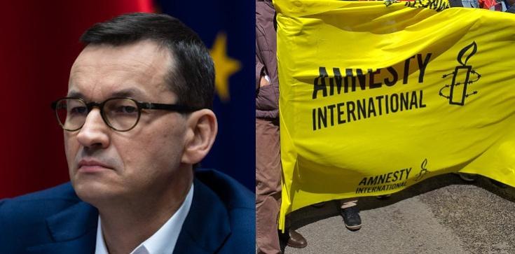Zideologizowana Amnesty International. MOCNY wpis Morawieckiego - zdjęcie