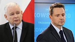 Roszczenia żydowskie. Kaczyński o Trzaskowskim: Tylko ktoś bez polskiej duszy i serca mógł to powiedzieć - miniaturka