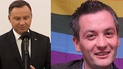 Biedroń chce zainteresować prezydenta Dudę kwestią LGBT. ,,Narysujemy mu tęczę'' - miniaturka