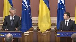 Ukraina w NATO? Jednoznaczne stanowiska Zełenskiego i Stoltenberga - miniaturka