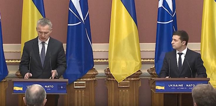 Ukraina w NATO? Jednoznaczne stanowiska Zełenskiego i Stoltenberga - zdjęcie