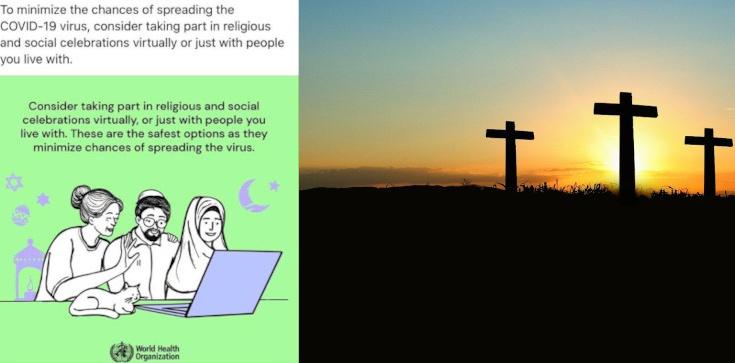 WHO: neutralność religijna - krzyż obraża, ale półksiężyc i gwiazda Dawida nie? - zdjęcie