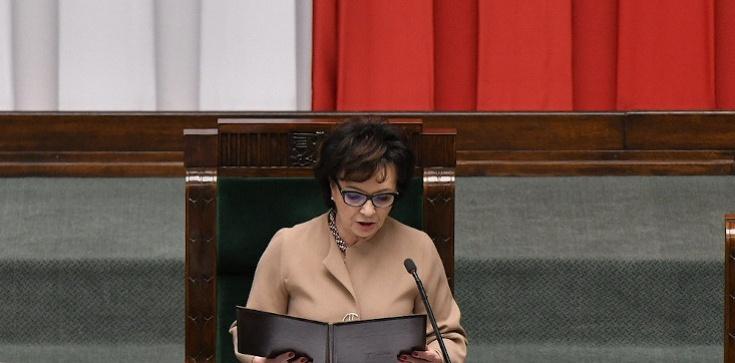 Marszałek Sejmu o działaniach opozycji: Żenujące… - zdjęcie
