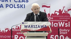 Jarosław Kaczyński: Trwa ofensywa tych, którzy chcą zniszczyć naszą cywilizację. Musimy się obronić! - miniaturka