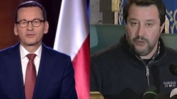 Salvini spotkał się z premierem. ,,Doskonała rozmowa'' - miniaturka