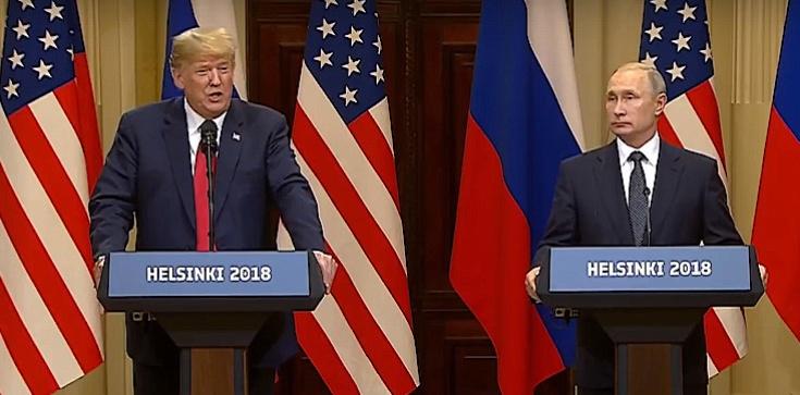 Konferencja Trumpa i Putina. Zaskakujące słowa - zdjęcie