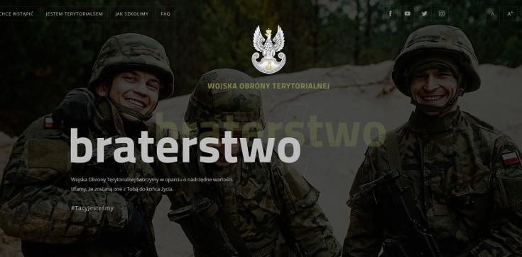 Już jest - strona internetowa Terytorialsów - zdjęcie