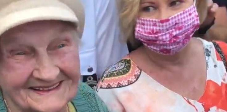Wzruszające! 92. latka podziękowała prezydentowi - zdjęcie