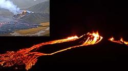 [Wideo] Znaki czasu. Islandia. Wybuch wulkanu w pobliżu Reykjaviku. Ostatnio wybuchł 800 lat temu - miniaturka