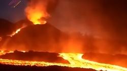 [Wideo] Kolejna erupcja wulkanu Cumbre Vieja. Olbrzymia chmura dwutlenku siarki nad Polską - miniaturka
