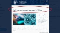 ARM o szczepieniach celebrytów na WUM: Nie były to szczepionki przeznaczone dla specjalnej grupy - miniaturka