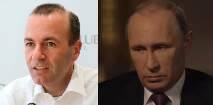 Weber: Trzeba wstrzymać budowę Nord Stream 2. Putin rozumie tylko język siły - zdjęcie