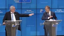 Tusk kandydatem na szefa KE? Juncker: Na szczęście nie! [ZOBACZ] - miniaturka