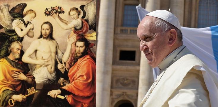 Papież Franciszek: Pan Jezus zawierzył swój Kościół dwóm nawróconym grzesznikom - zdjęcie
