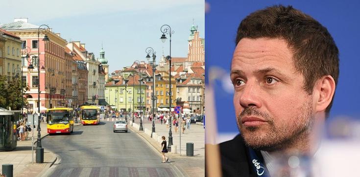 Warszawa: Trzaskowski chce zakazać wjazdu samochodów do centrum - zdjęcie