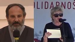 Ks. Tadeusz Isakowicz-Zaleski: Krystyna Janda jak Wojciech Jaruzelski. ,,Te same okulary, ta sama pogarda'' - miniaturka