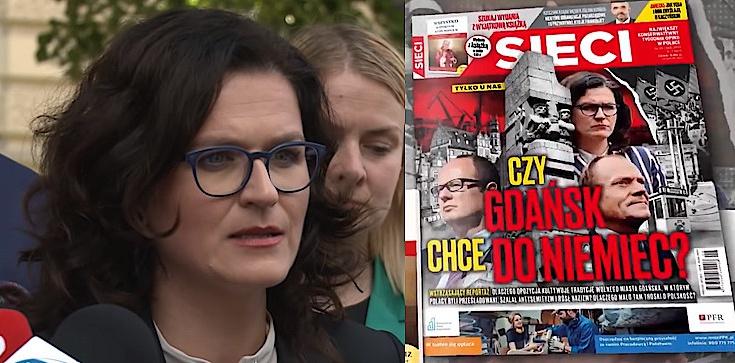 Dulkiewicz pozywa ,,Sieci''. Chodzi o okładkę i artykuł ,,Wojna Gdańska z Polską'' - zdjęcie