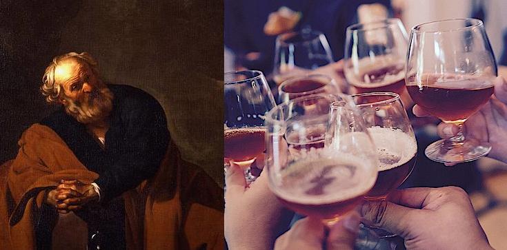 Czy katolik może pić? Św. Piotr: Bądźcie trzeźwi! - zdjęcie