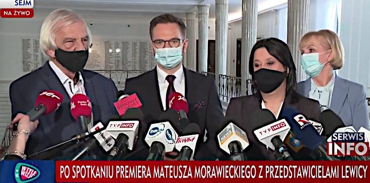 Koniec spotkania rządu z Lewicą. ,,Dogadaliśmy się w kluczowych kwestiach'' - zdjęcie