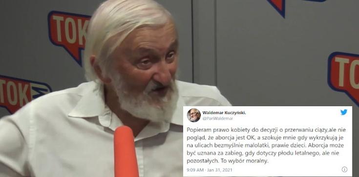 Kuczyński: Aborcja nie jest ,,ok''! Te hasła mnie szokują - zdjęcie