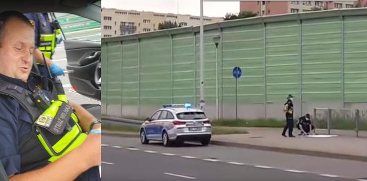 W Warszawie straż miejska zrywa plakaty Andrzeja Dudy [WIDEO] - zdjęcie