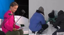 Prawdziwy atak ,,globalnego ocieplenia''. Grecja zasypana śniegiem - miniaturka