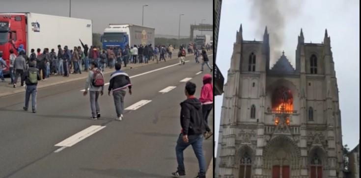To uchodźca podpalił katedrę z Nantes - zdjęcie
