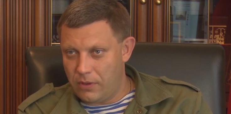 Lider prorosyjskich separatystów zabity przez bombę! - zdjęcie