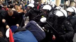 [FILM] Zamieszki w Poznaniu. Anarchiści pobili się z pseudokibicami - miniaturka