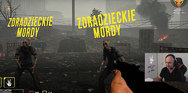 Szok! Kandydat KO strzela do pisowskich zombie - zdjęcie