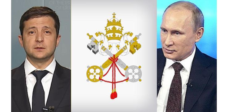 Spotkanie Putin-Zełenski w Watykanie. Stolica Apostolska: jesteśmy gotowi - zdjęcie