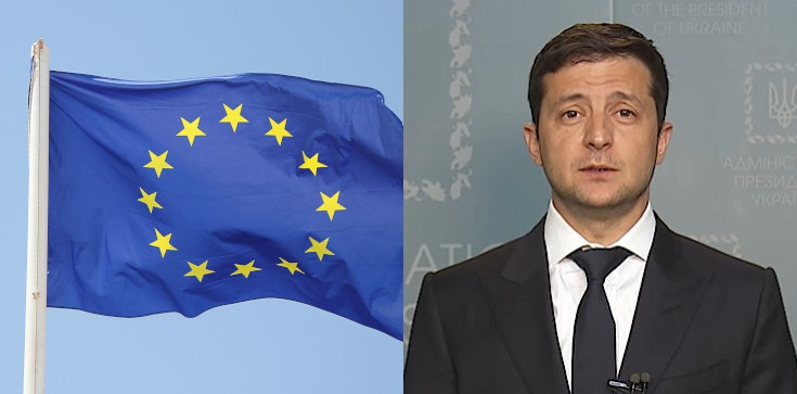 Zełenski: chcemy kupić niemiecką broń i otrzymać gwarancję bezpieczeństwa od UE - zdjęcie