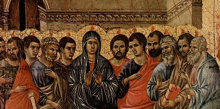 Duch Święty nie przychodzi do nas inaczej jak przez Maryję - zdjęcie