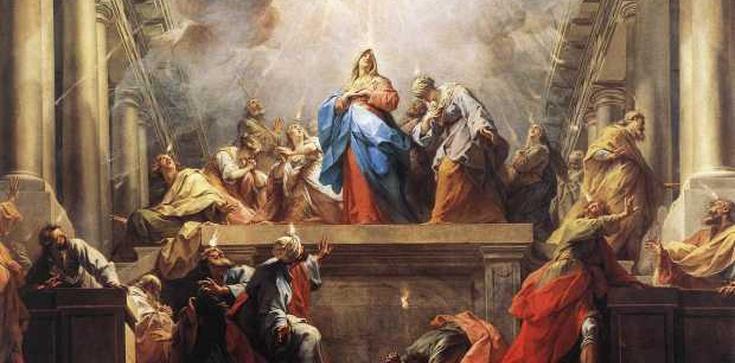 ,,Nagle dał się słyszeć z nieba szum''. Dziś Zesłanie Ducha Świętego - zdjęcie