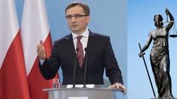 Ziobro: Z sądów  w Polsce nigdy nie usunięto winnych - miniaturka