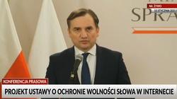 Min. Ziobro: Za łamanie wolności słowa kara do 50 mln złotych [Wideo] - miniaturka