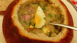 Polski żurek w chlebie - miniaturka