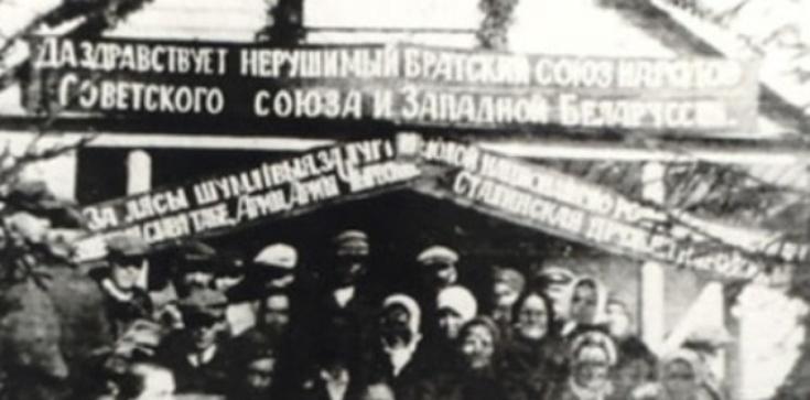 Bimbrem i chlebem- tak Żydzi w 1939 witali Sowietów - zdjęcie