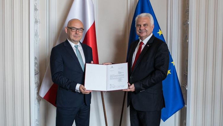 Filip Nowak został powołany na p. o. prezesa NFZ  - miniaturka