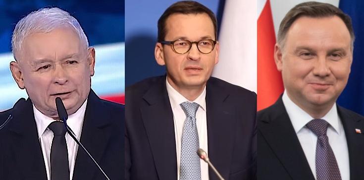 Sondaż zaufania. Prezydent i premier na czele, ale ze spadkami. Zyskuje tylko Jarosław Kaczyński - zdjęcie