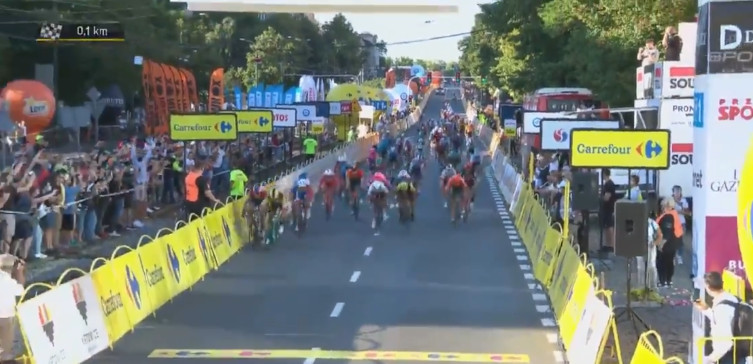 Makabryczny wypadek na Tour de Pologne [WIDEO] - miniaturka